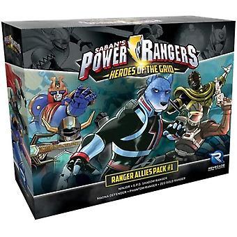 Power Rangers Heroes of The Grid Allies Pack