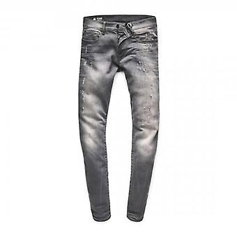 G-Star Raw Revend Skinny Slander Grey Stretch Denim Jeans 51010 6132 1243