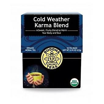 Buddha Teas Organic Cold Weather Karma, 18 Bags