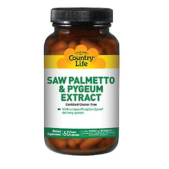 Country Life Saw Palmetto & Pygeum, 90 Caps