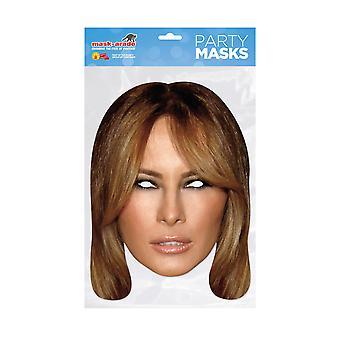 Mask-arade Melania Trump Celebrities Party Face Mask