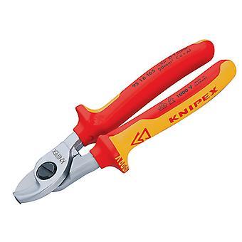 Knipex Kabelscheren VDE Zertifizierter Griff 165mm KPX9516165