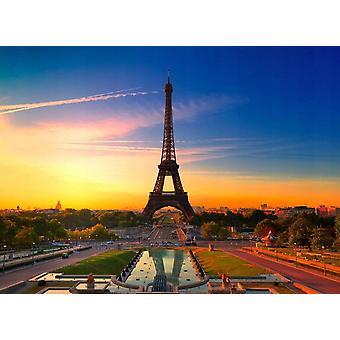 Behang Mural Paris Eiffel Tower II