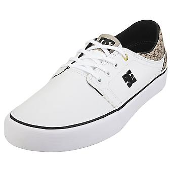 DC Shoes Trase Se Sn Mens Casual Trainers in White Brown