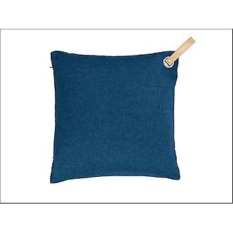 Premier Decorations Scatter Cushion Blue 40 x 40cm FN183002B