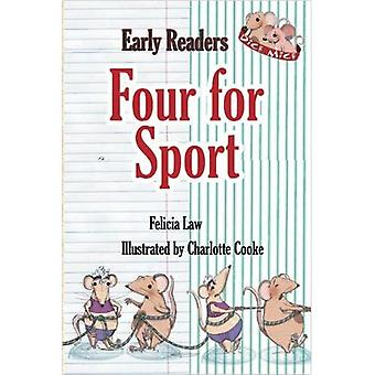Four for Sport (Dice Mice Readers)