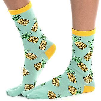 Flip Flop Ponožky - Ananas tisk