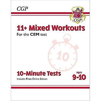 Nye 11 + CEM 10-minutters tests: blandede træninger-aldre 9-10 (med online udgave)