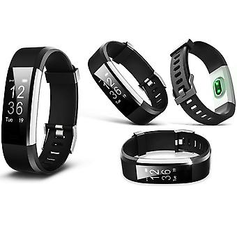 Aquarius Touch Screen Fitness Activity Tracker with Dynamic HRM - Black