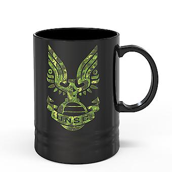 Halo UNSC Crest Tall Ceramic Mug