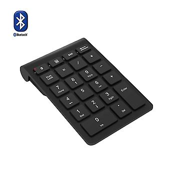 Pad numerico Bluetooth, rytaki wireless wireless bluetooth portatile 22 tasti tastierino numerico estensioni f