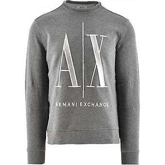 Sweat-shirt Armani Exchange Grey Logo