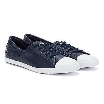 Lacoste Ziane BL 1 CFA Womens Navy Trainers