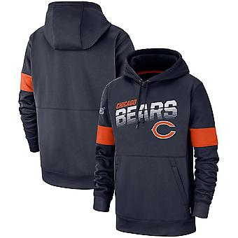 Chicago Bears Performance Pullover Hoodie - Marinha