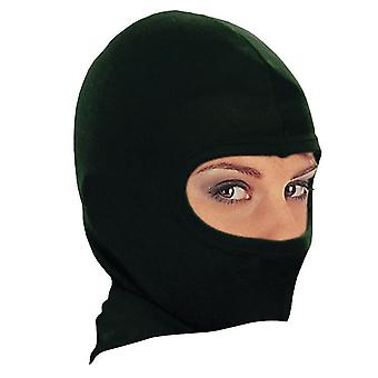 Bike IT Motorcycle Under Helmet Balaclava Black Synthetic Silk