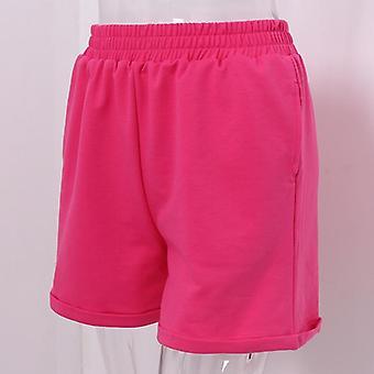 Summer/autumn-  Casual Cotton, High-waist Sport, Shorts Pants