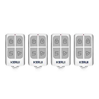 Télécommande sans fil avec porte-clés à 4 boutons - Sécurité à domicile, système d'alarme