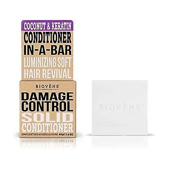 Damage Control Coconut & Keratin Solid Conditioner None