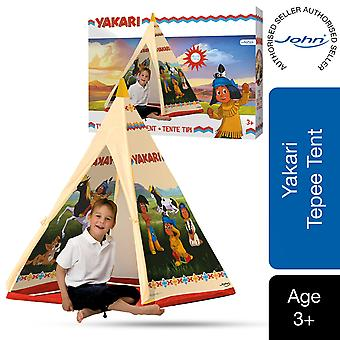 John Yakari Tepee Children's Play Tent with Printed Motif