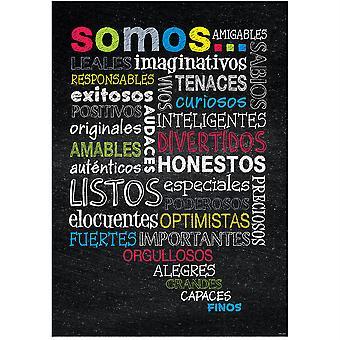 Spanish Inspire U Poster, Somos...