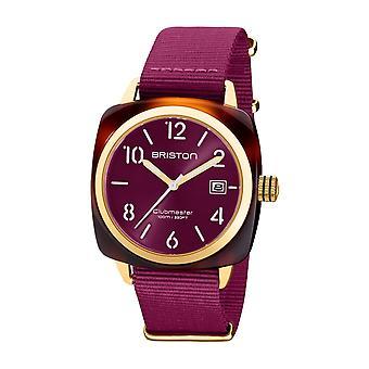 Briston 20240.PYA.T.32.NC Clubmaster Classic Acetate Wristwatch Purple