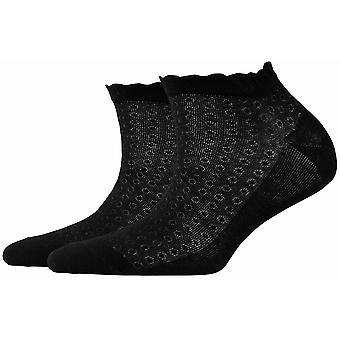 Burlington Montrose Sneaker Socks - Black
