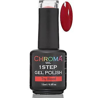 Chroma Gel One Step Gel Polish - Tru Blood