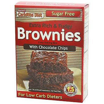 Universal Nutrition Doctor's Carbrite diet Rich & Fudgy brownies Chocolate chips 326 g
