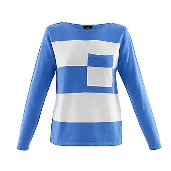 MARBLE Marble Blue Sweater 6102