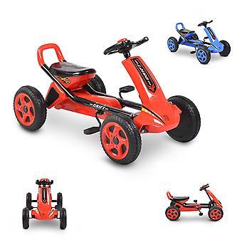 Moni Kids Gokart Drift Pedal Bil Plastic Tire, fra 3 år, Bagbremse