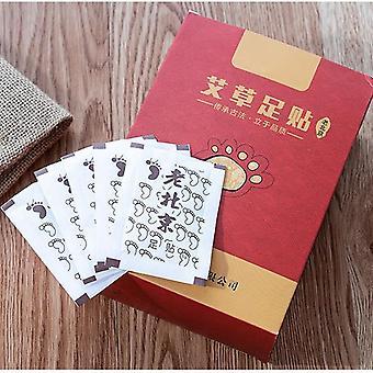 Medicina china desintoxica parches de pie mat toxinas pies adelgazando la limpieza herbaria cuerpo adhesivo pastillas 50 piezas en caja