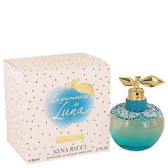 Les Gourmandises De Lune Eau De Toilette Spray By Nina Ricci 2.7 oz Eau De Toilette Spray