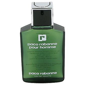 Paco Rabanne Eau De Toilette Spray (Tester) von Paco Rabanne 3.4 oz Eau De Toilette Spray