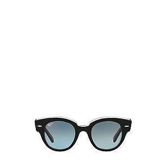 Ray-Ban RB2192 negro en gafas de sol transparentes femeninas
