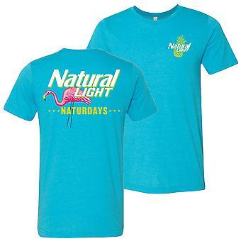 Natural Light Naturdays Ananas Sininen Colorway T-paita