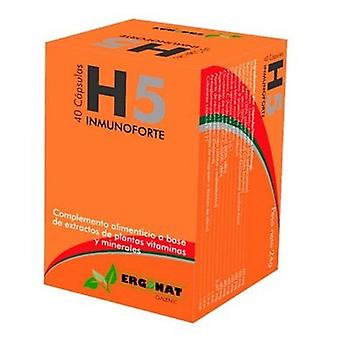 Ergonat H5 Immunoforte 40 Capsules