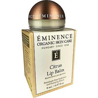 Eminenssi orgaaninen ihonhoito sitrushedelmä huulivoide maaöljy vapaa nesteytys ja pullea toiminta 0,27 oz fe79537