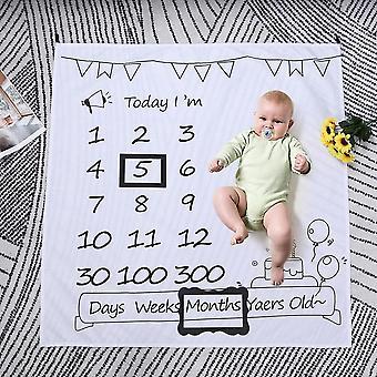 Simples adereço de moldura de foto infantil, acessórios de fundo de fotografia de bebê,