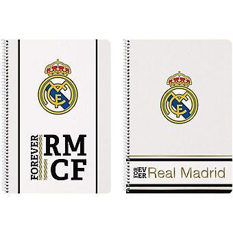 Boek van Ringen Real Madrid C.F. Wit Zwart A4