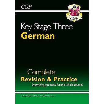 KS3 German Complete Revision  Practice with Audio CD CGP KS3 Languages