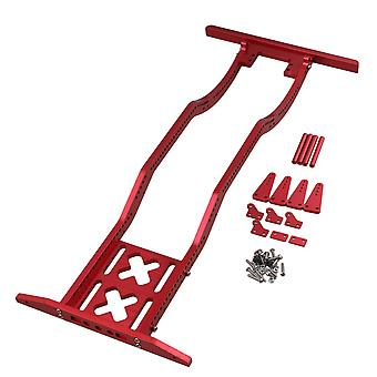 Alumimum Red Upgrade D90 RC1:10 Frame Ligger voor AXIAL SCX10 RC4WD