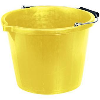 Draper 10636 14.8L Bucket - Yellow