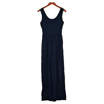 Anyone Jumpsuits (XXS) Décolleté Scoop Navy Blue One-Piece A374513
