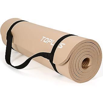 FengChun Verdickte Gymnastikmatte Phthalatfreie Yogamatte rutschfest und gelenkschonend Sportmatte