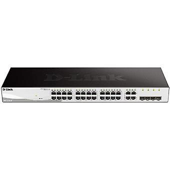 FengChun DGS-1210-28 Managed Gigabit Smart Switch (28 Ports, davon 24x 10/100/1000 Mbit/s und 4x