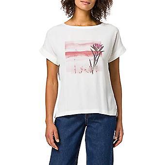 edc by Esprit 041CC1K327 T-Shirt, 110/OFF White, Large Woman