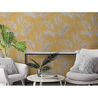 Papier peint rouleau feuilles tropicales voyage à grace bay