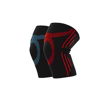 1 Paar Kniepolster Sport Fitness atmungsaktive rutschfeste Gelenk protektor