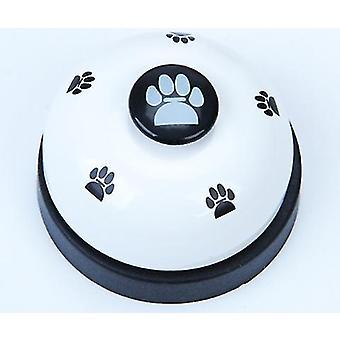 2Pcs white pet training bell, dog bell, dog training device az5071