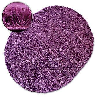 Rug oval SHAGGY GALAXY 9000 violet